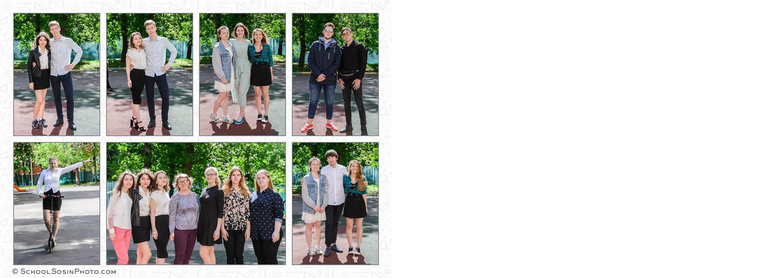 разворот школьной выпускной фотокниги 11 класс групповые фотографии старшеклассников